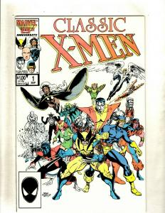 Lot of 12 Classic X-Men Marvel Comics #1 2 3 4 5 6 7 8 9 10 11 12 HY3