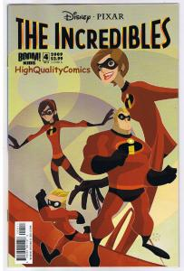 The INCREDIBLES #4, NM, Dash, Mirage, Movie, Syn, 2009, more in store