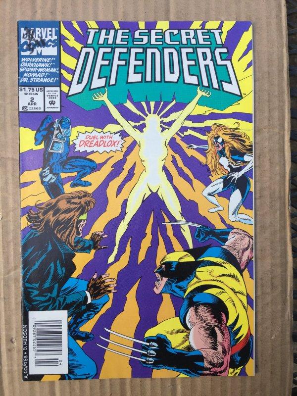 Secret Defenders #2 (1993)