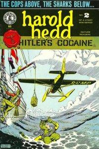 Harold Hedd in Hitler's Cocaine #2, NM- (Stock photo)