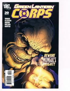 Green Lantern Corps # 20 DC Comic Books Hi-Res Scans Modern Age Great Issue!! S6