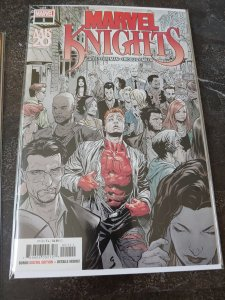 Marvel Knights 20th 1A Shaw Variant NM