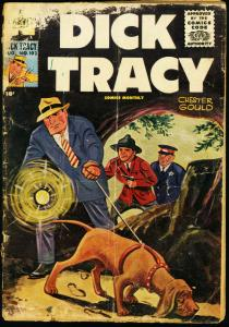 DICK TRACY #102 1956 -HARVEY-CHESTER GOULD FR