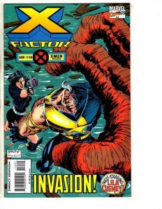 10 X-Factor Marvel Comic Books # 110 111 112 113 114 115 116 117 118 119 CR53