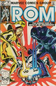 Rom (1979 series) #20, VF+ (Stock photo)