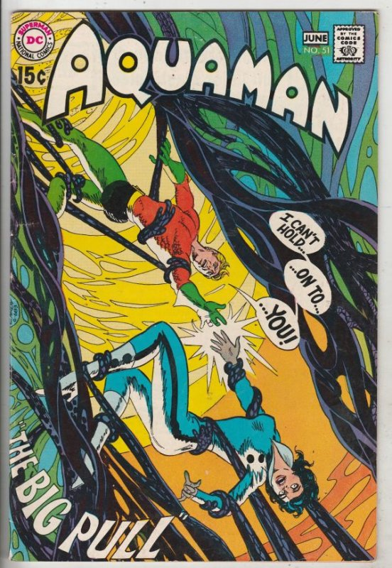 Aquaman #51 (Jun-70) FN/VF Mid-High-Grade Aquaman, Aqualad, Mira