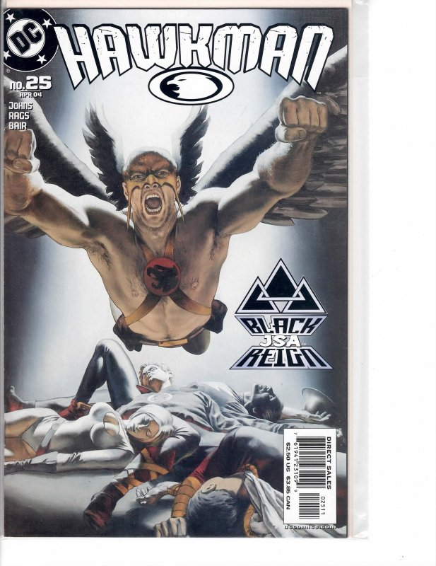 Hawkman (2002) #25 NM- (9.2) Justice Society