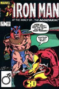 Iron Man (1968 series) #181, VF (Stock photo)