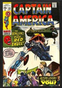 Captain America #129 FN/VF 7.0
