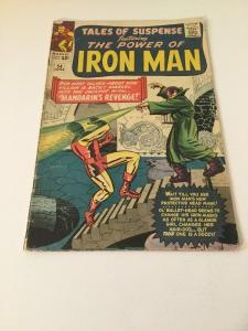 Tales Of Suspense 54 3.0 GD/VG Good/Very Good 2nd Appearance Of Mandarin
