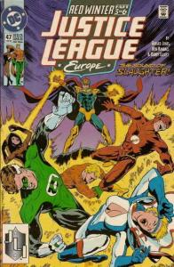 Justice League Europe #47 VF/NM; DC | save on shipping - details inside
