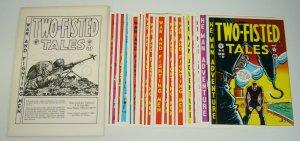 Two-Fisted Tales Portfolio - ec comics - kurtzman - wally wood - severin - davis