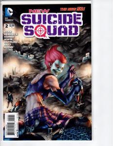 New Suicide Squad #2 B - 9.8? - 1:25 variant - 2014