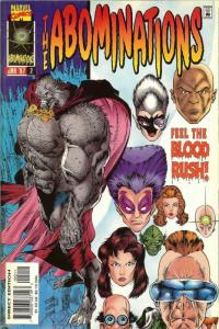 Abominations #2 VF/NM; Marvel | save on shipping - details inside