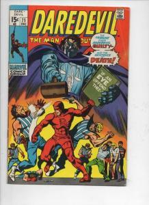 DAREDEVIL #71 VG+, Gene Colan, Murdock, Tribune, 1964 1970, more Marvel in store