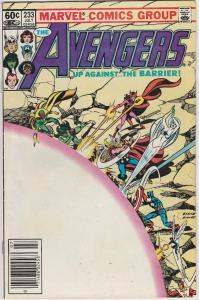 6 The Avengers Marvel Comic Books # 233 238 239 250 251 263 Thor Vision EP1
