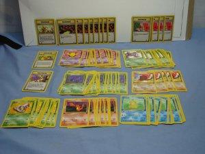 Pokemon TCG HUGE LOT 330 Cards ALL 1st Edition Rocket Fossil Jungle Dragonite!!!