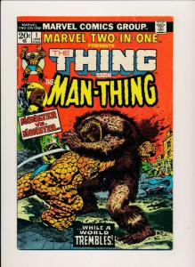 Marvel THE THING & THE MAN-THING Vol 1. #1 Jan 1974 FINE- (PF428)