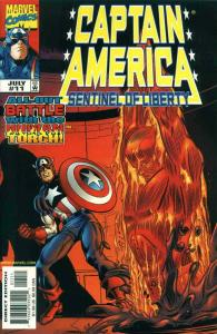 Captain America: Sentinel of Liberty #11 VF/NM; Marvel | save on shipping - deta