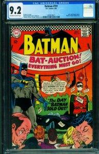 BATMAN #191 CGC 9.2-DC comic book 1967 2039574011