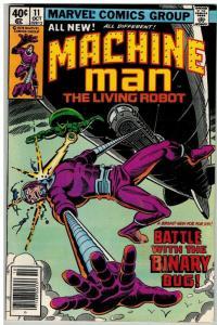 MACHINE MAN 11 F-VF Oct. 1979 COMICS BOOK