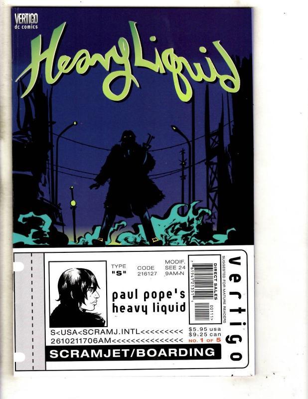 8 DC Comics Heavy Liquid 1 2 4 5 Human Target 1 Race 1