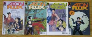 Aeon Flux #1-4 VF/NM complete series MTV bad girl dark horse comics 2005 2 3 set