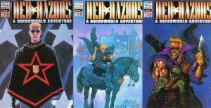 RED RAZORS (F/Q) 1-3 'A Dreddworld Adventure' COMPLETE!