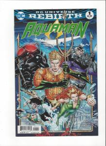 Aquaman #1 DC Universe Rebirth NM