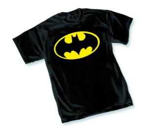 BATMAN SYMBOL I T-SHIRT 2X-LARGE GRAPHITTI DESIGNS NEW
