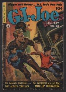 G.I. Joe #28 G 2.0 Ziff Davis Painted Cover FREE COMBINED SHIPPING