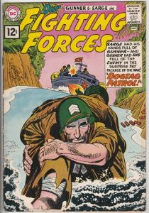 Our Fighting Forces #65 (Jan-62) VF High-Grade Gunner & Sarge