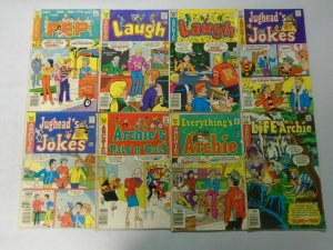 Bronze age Archie comic lot 48 different 35c covers avg 4.0 VG