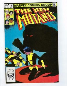 NEW MUTANTS #3, NM-, NightMare, Claremont, Marvel 1983, more in store
