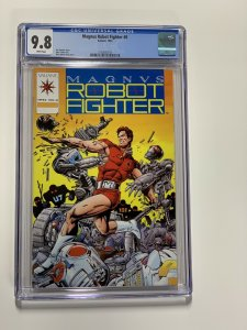 Magnus Robot Fighter 0 Cgc 9.8 White Pages Valiant