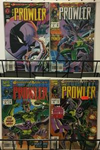 PROWLER 1-4 Spiderman spinoff - complete story!