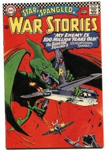 Star Spangled War Stories #128 1966- Dinosaur issue FN/VF