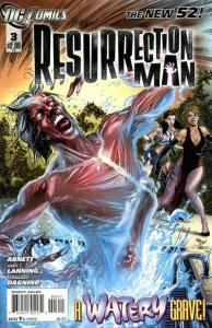 Resurrection Man (2011 series) #3, NM + (Stock photo)