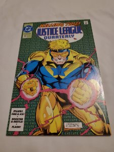 Justice League Quarterly 10 Very Fine/Near Mint Cover by Dan Rodriguez