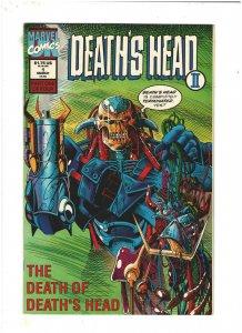 Death's Head II #1 NM- 9.2 Marvel UK Comics 1992