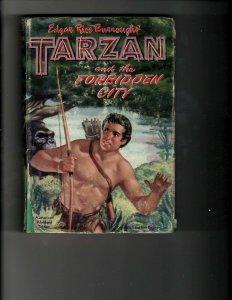 3 Books Tarzan and the Forbidden City April Cane Dragon Lady Gatehouse JK12