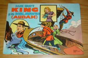 Zane Grey's King of the Royal Mounted (Audax) #189 VF italian import hardcover
