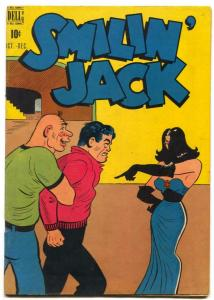 Smilin' Jack  #8 1949- FINAL ISSUE- Dell comics FN