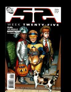 Lot of 12 52 DC Comic Books #25 26 27 28 29 30 31 32 33 34 35 36 EK12