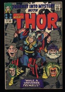 Journey Into Mystery #123 VG+ 4.5 Marvel Comics Thor
