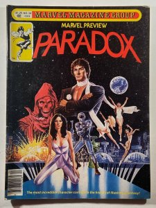 Marvel Preview #24 Paradox Paul Gulacy Cover 1981 Magazine
