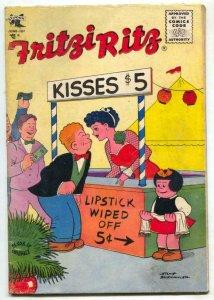 Fritzi Ritz Comics #43 1956- PEANUTS VG
