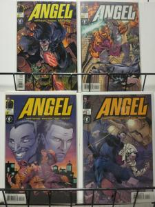 ANGEL (2001 DH) 1A-4A (art cover variants)  COMPLETE!