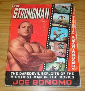the Strongman: A Pictorial Autobiography SC VG joe bonomo book from 1968