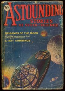 ASTOUNDING STORIES 1930 MAR-V.1 #3-RAY CUMMINGS G